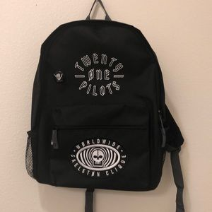 21 pilots Black Backpack